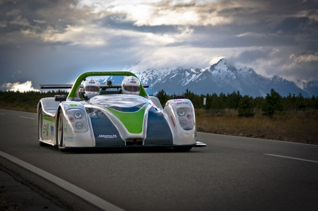 Green endurance: electric race car goes the distance