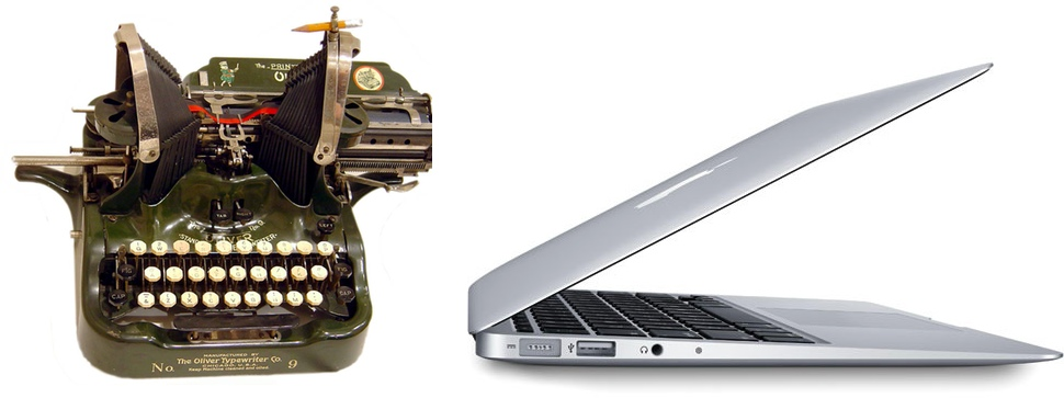 Unevenly Distributed: Disillusionment, Clark Nova, The MacBook Air & The Perfect Writer's Machine