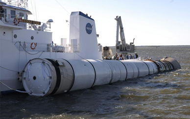 Behold! This is How NASA Recovers Those Spent Rocket Boosters