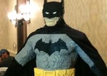 13 Year Old Kid Makes Life-Size LEGO Batman