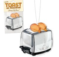 toast scented air freshener will make your car smell like toast gearfuse. Black Bedroom Furniture Sets. Home Design Ideas