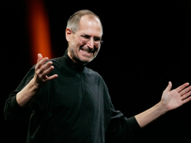 steve jobs laughing