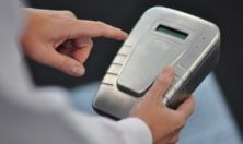 Portable Device Tests for Drugs By Scanning Fingerprints