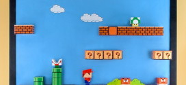 Super Mario Bros. 3D Magnetic Papercraft
