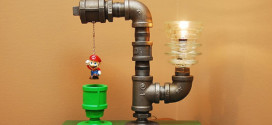 Super Mario Pipe Lamp