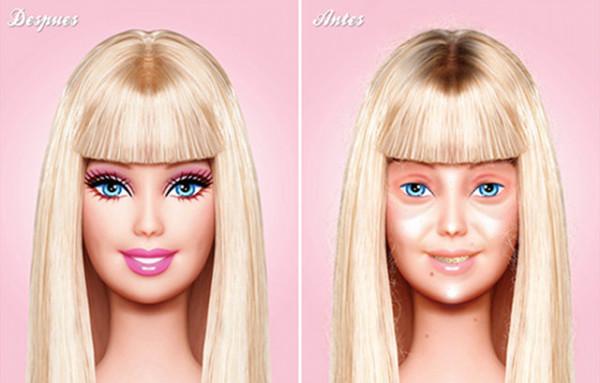 barbie-no-makeup