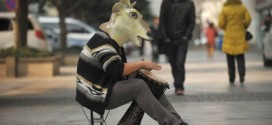 Man Wears Deer Head Mask Every Day For Four Years