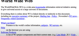 20 Years Ago Today, The World's First Website Went Live; And Now It's Back