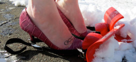 Snow Shoveling Shoes Turn Your Feet Into Mini-Snow Plows