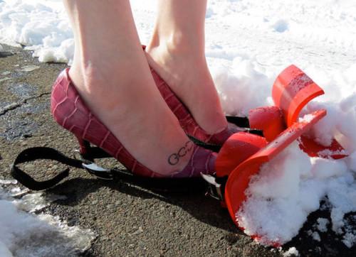 snow-feet