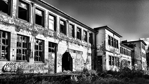 Abandoned Dairy Factory