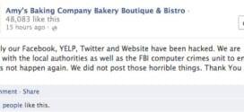 Amys Baking Company Was Hacked