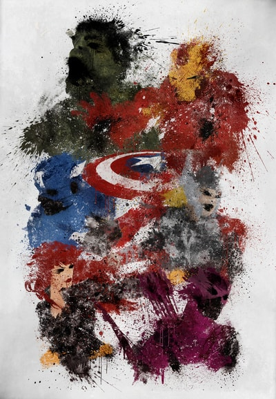 Avengers Assemble By Melissa Smith