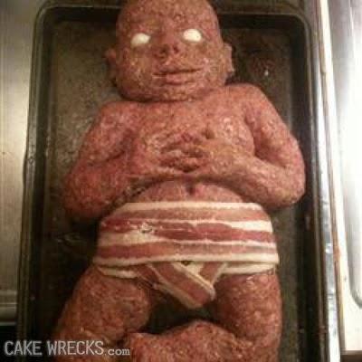 Baby Meatloaf Cake