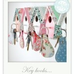 Birdhouse Key Hooks