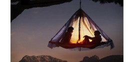 Cliff Hanging Tent