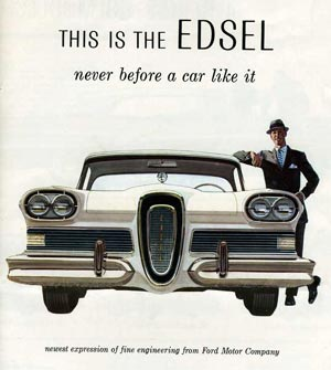 Ford Edsel & The 4 Most Embarrassing Cars in History | Gearfuse markmcfarlin.com