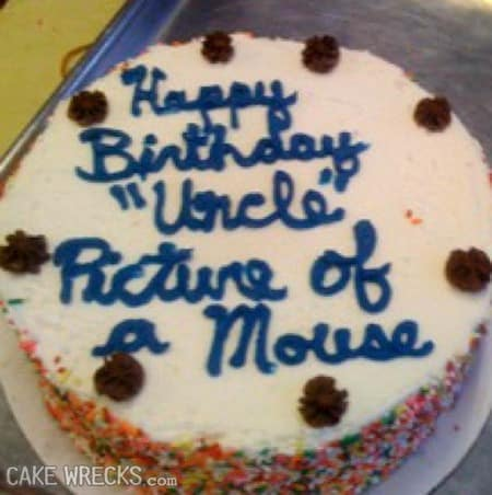 Funny Birthday Cake
