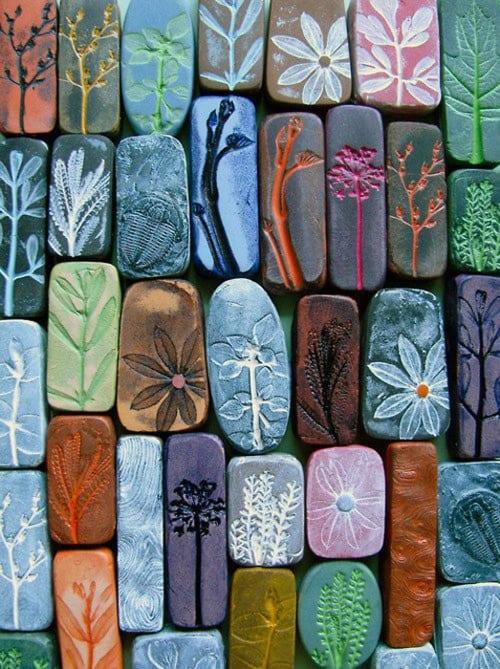 Handmade Decorating Tiles