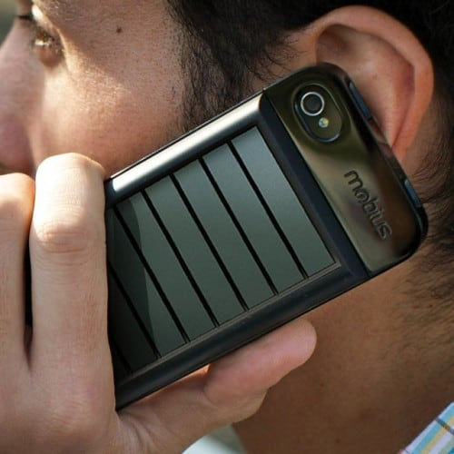Solar iPhone Charging Case by Eaton
