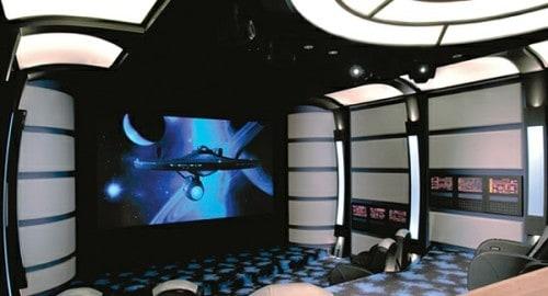 Star Trek Home Theater Screen
