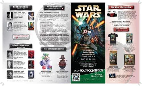 Star Wars Weekend Pamphlet