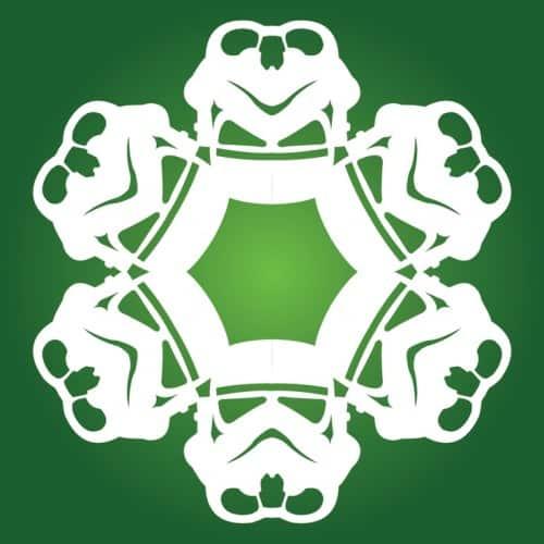 Stormtrooper Snowflakes