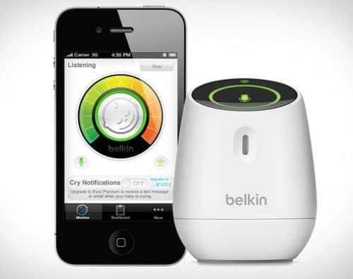 The Belkin WeMo Baby Monitor