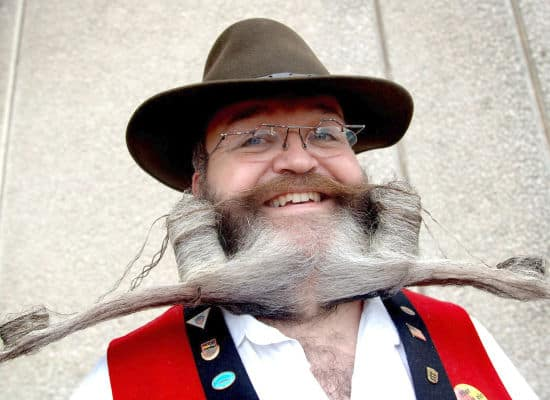 Weird Facial Hair Styles: Why/when Did Beards Become Non-professional? : AskReddit