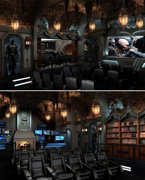 The Dark Knight Home Theater