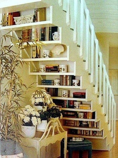 Under Stairs Shelving