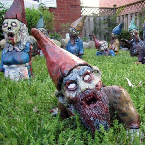 Zombie Garden Gnome