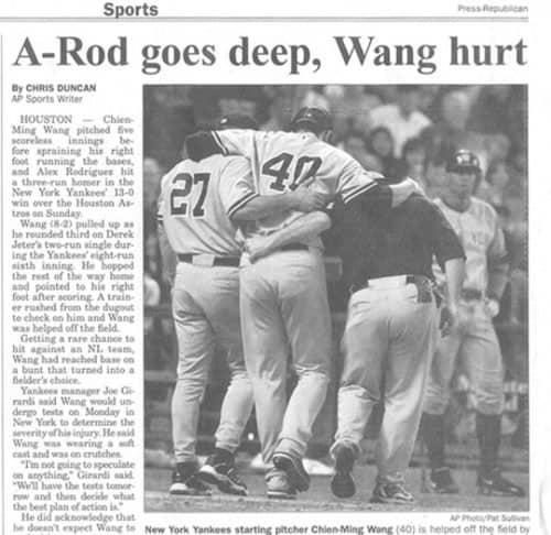 A-Rod Goes Deep