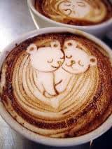 Bears Coffee Art