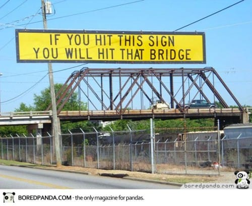 Beware the Bridge