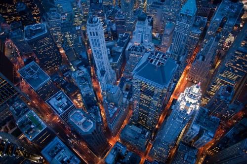 Cameron Davidson Above The City