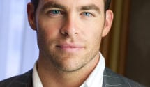 Chris Pine as Christian Grey
