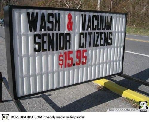 Clean Your Senior Citizens