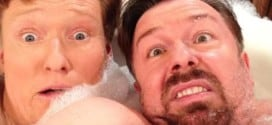 Conan and Ricky Gervais