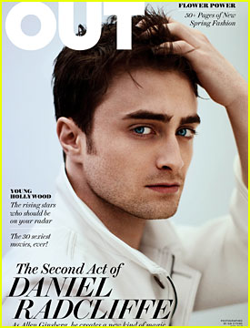 Daniel Radcliffe For Out Magazine