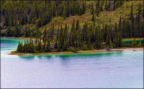 Emerald Lake by BL Miers
