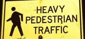 Heavy Pedestrian Traffic