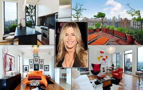 Jennifer Aniston's Penthouse Apartment