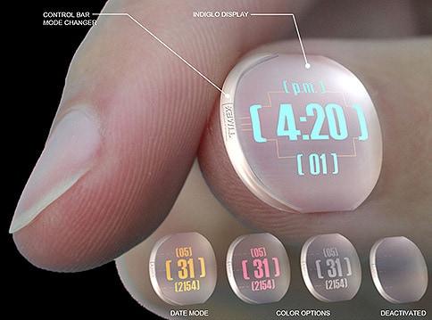 Fingernail Watch