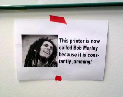 Jamming Printer