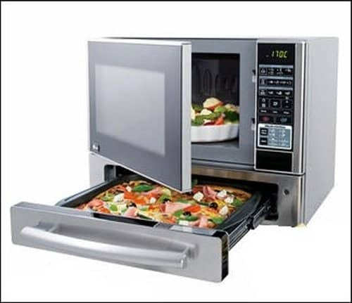 The Microwave And Pizza Oven Combination Gearfuse
