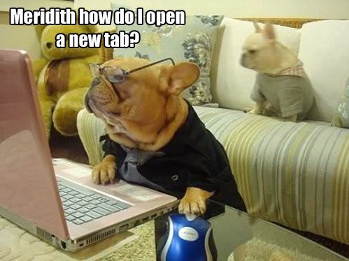 Opening Tabs