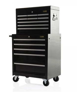 Professional 14 Drawer Tool Chest & Roller Cabinet