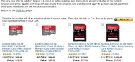 Amazon Sandisk Sale