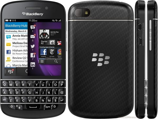 August 30 Brings The BlackBerry Q10's Arrival At Sprint